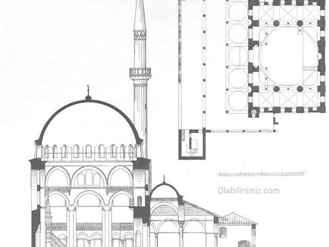 Rüstem Paşa Camii Planı