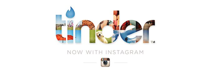 Tinder İnstagram logo