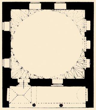 haci-ozbek-camii planları
