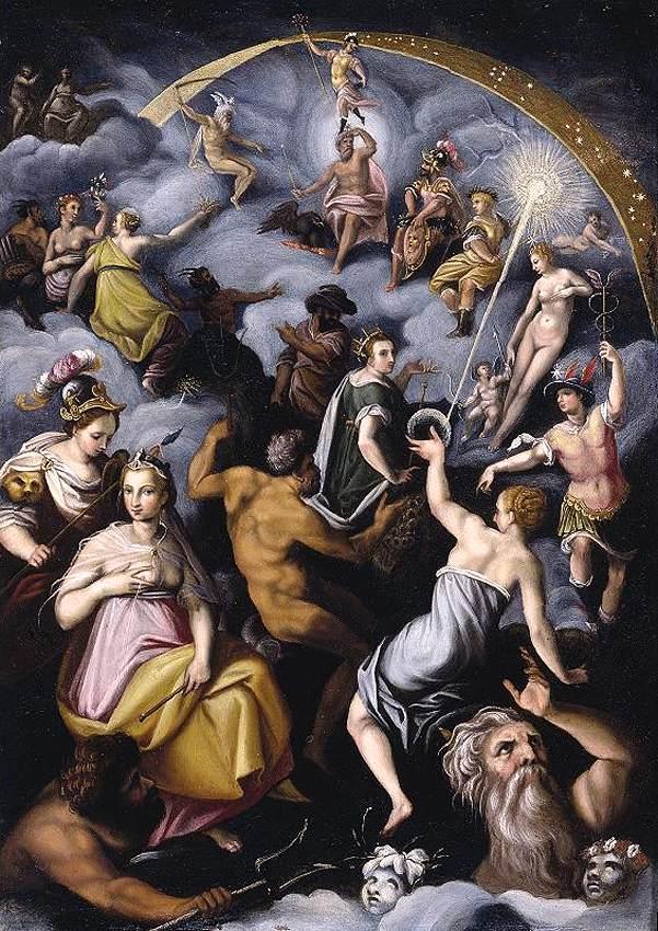Olimpos tanrıları